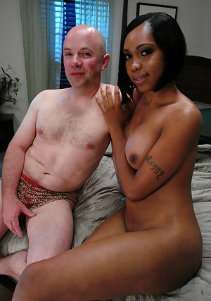 Big boobs Ebony shemale Sexy Jade having fun getting her feet licked
