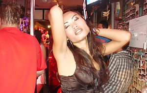 Beautiful Asian shemale Candids posing outdoors in slutty clothes